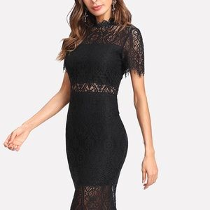 NWOT Lace Bodycon Dress